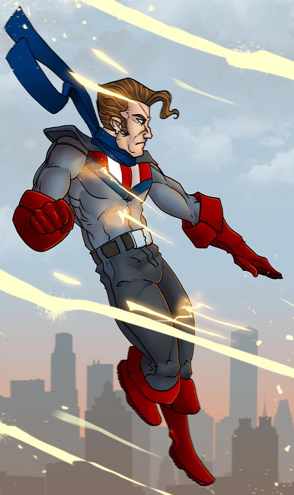 Arte Convidada: Captain Victory, por Taibox
